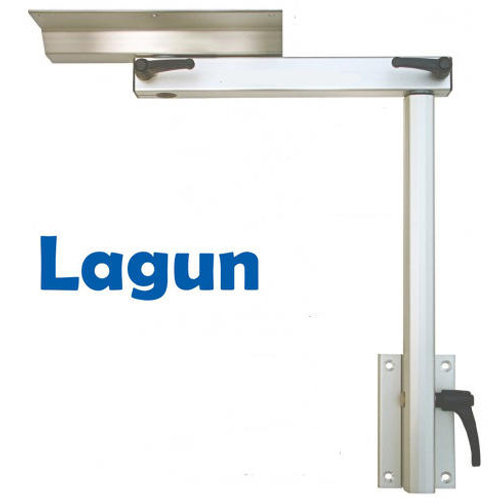Lagun Adjustable Swivelling RV Table Mounting System Complete