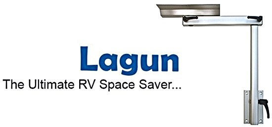 Lagun RV Table Mount The Ultimate RV Space Saver Logo Footer Banner