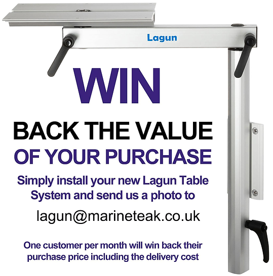 Lagun Competition Win Back the Value of your RV Table Mount