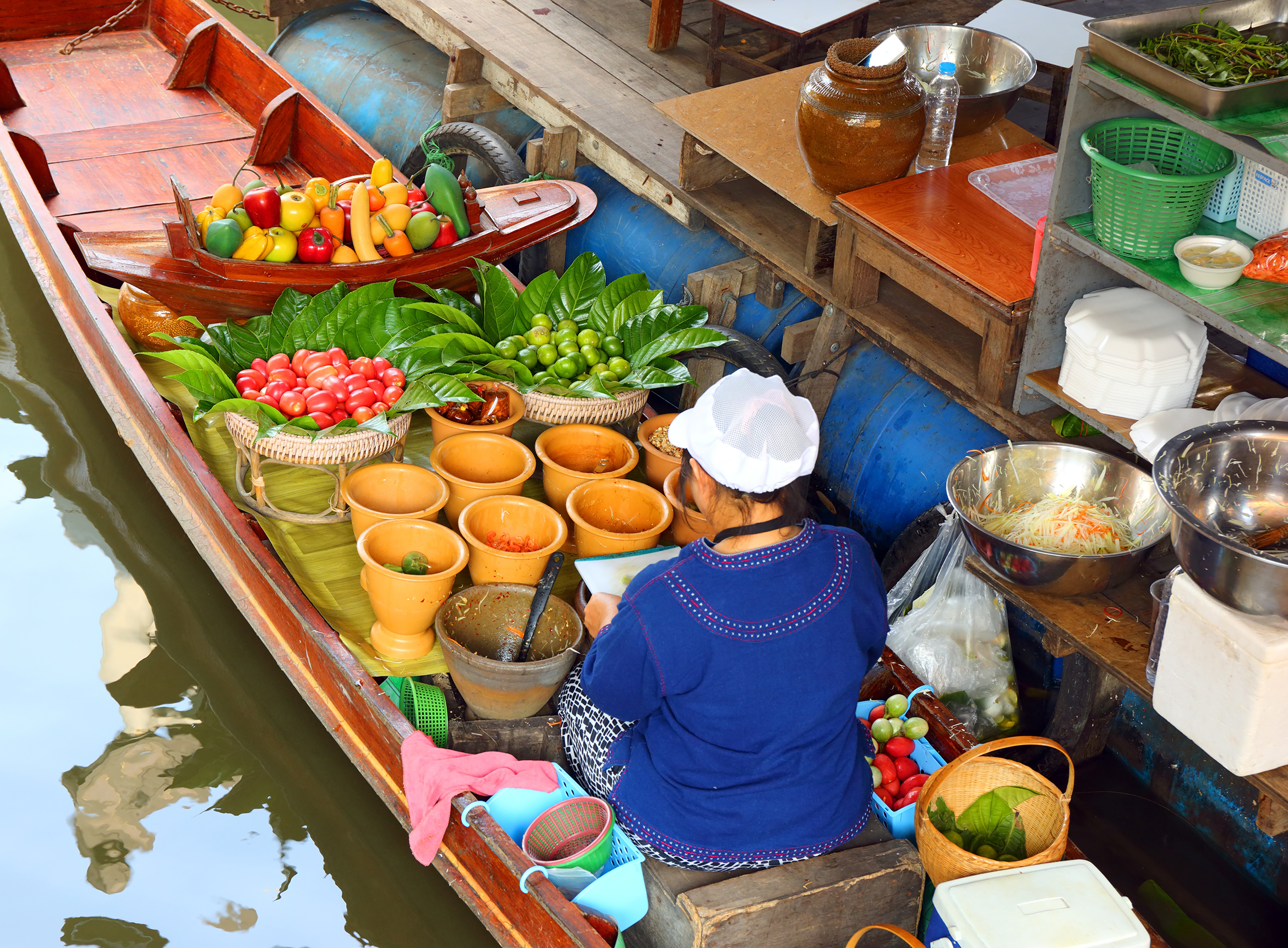 Ratchaburi Floating market, Bangkok
