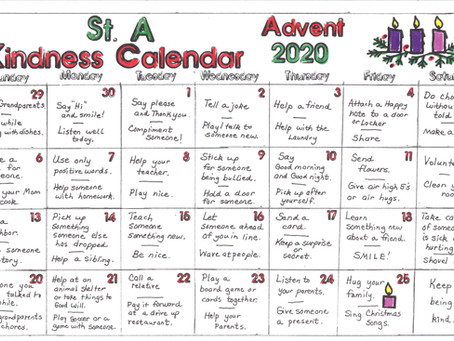 2020 Advent at St. A's