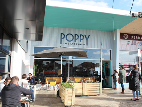 Behind the Counter at Poppy Cafe & Pantry