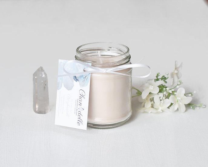 Duftkerze «Bergkristall & Jasmin»