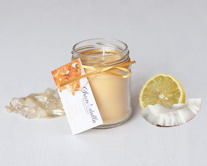 Duftkerze «Citrin & Kokos-Lemon»