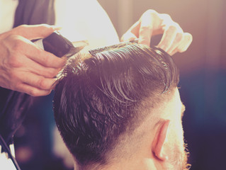 Men Haircuts in The Wave Hair Salon