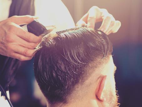 Men Haircuts in The Wave Hair Salon