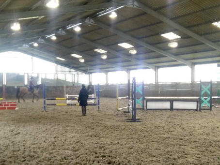 First Clinic of 2019: Jumping with the Jumping Team