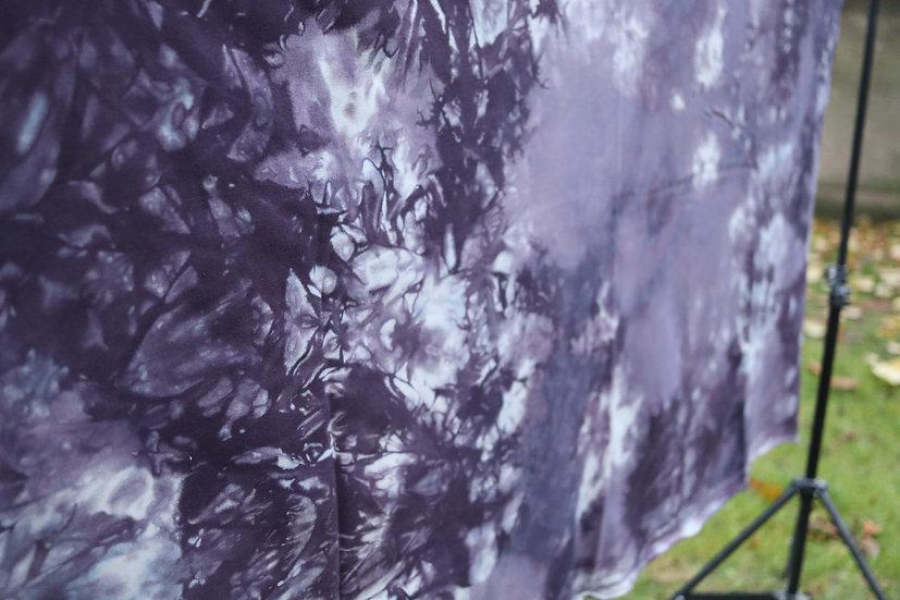 fabric #18 & black fleece- french terry