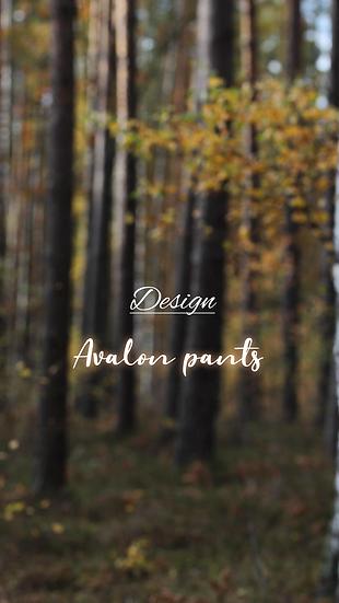 Design: avalon pants