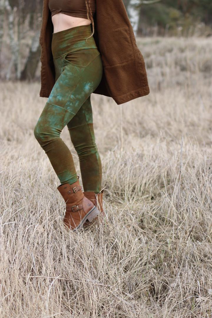 desert dweller leggings - fleece