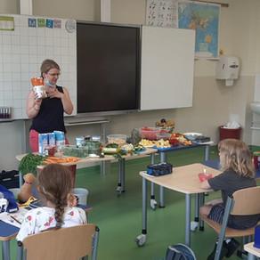 "Projekttag ""gesunde Ernährung"" im Sachunterricht"