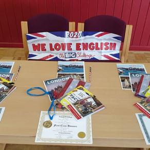 Englischwettbewerb 2020 - BIG challenge