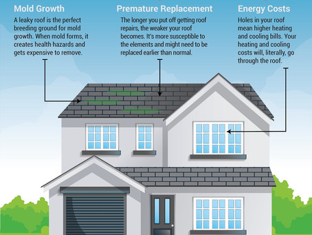 5 Reasons You Shouldn't Delay Roof Repairs