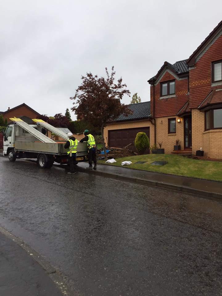 House scaffolding Glasgow