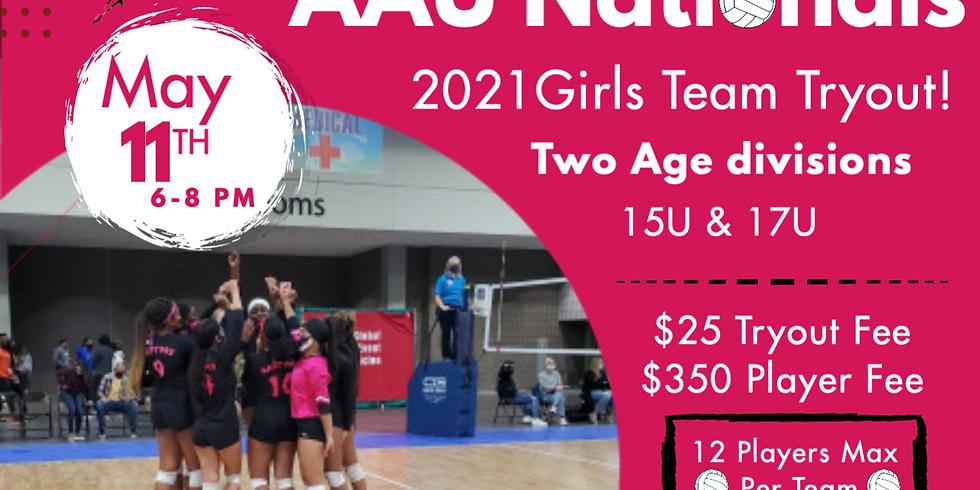 Girls 15U AAU Nationals Tryout (2)