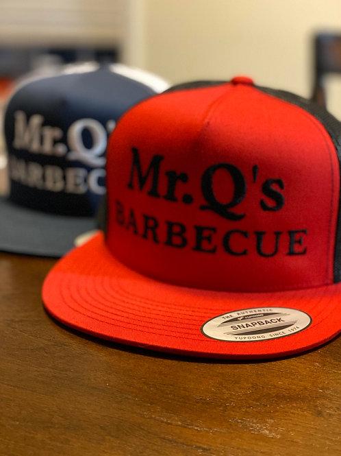 Mr. Q's Flat Brim Hat