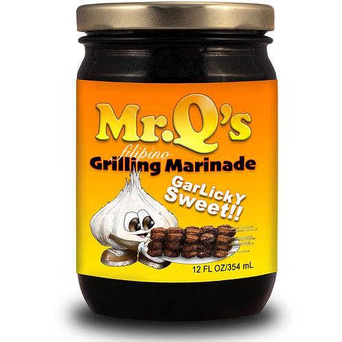Mr. Q's Bar-B-Cue Garlicky Sweet 12oz.