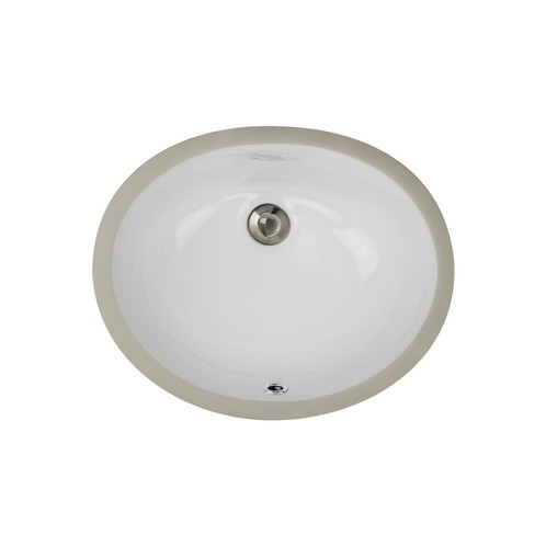 Highpoint Collection Petite Undermount Ceramic Oval Bathroom Sink Comes In  A Clean Crisp White. This Easy To Clean Sink Combines A Sleek And Timeless  Design ...
