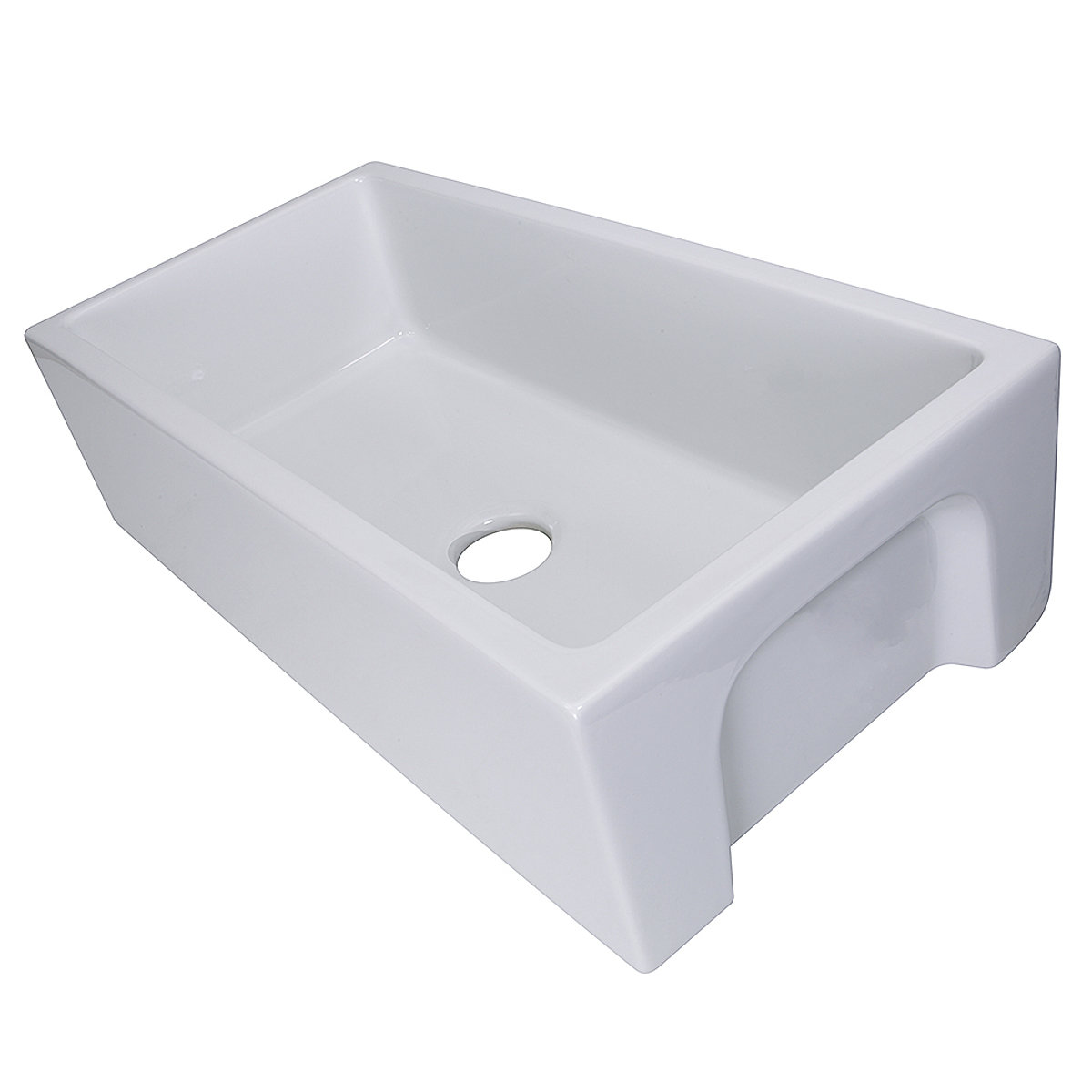 genuine italian fireclay apron sink base required ask your designer or contractor for details