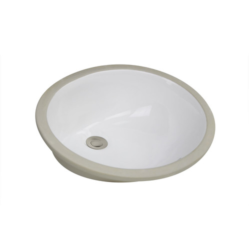STYLISH® Oval Bathroom Over The Counter Sinks | Fine Porcelain Oval Vessel  Sinks With Enamel Glaze Finish, ...