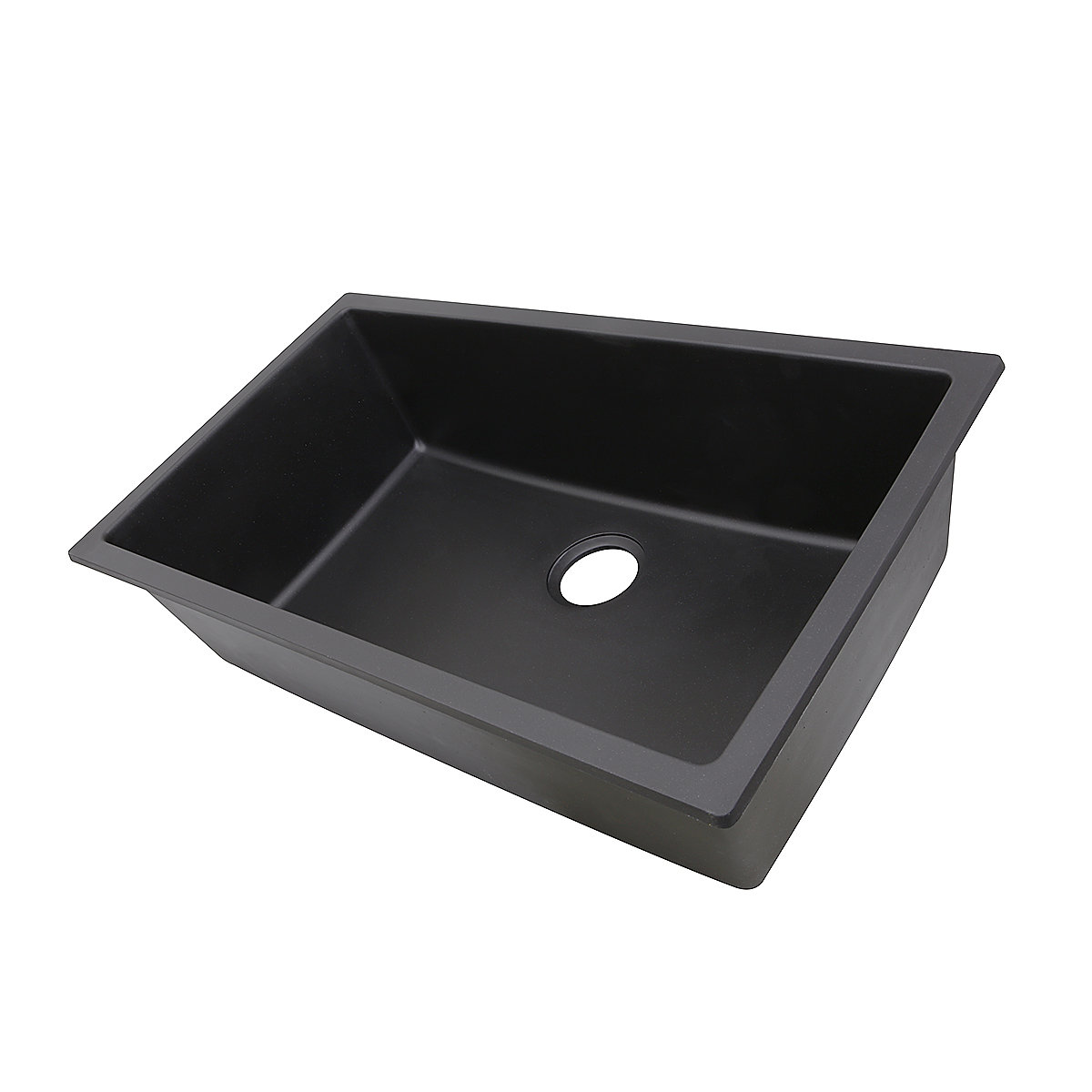 Highpoint Collectionu0027s Black Granite Composite Undermount Sink Looks Great  In Any Kitchen. The Granite Composite Material Makes It Easy To Maintain  With ...