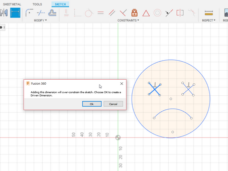 How to Avoid Unnecessary Sketch Constraints in Fusion 360