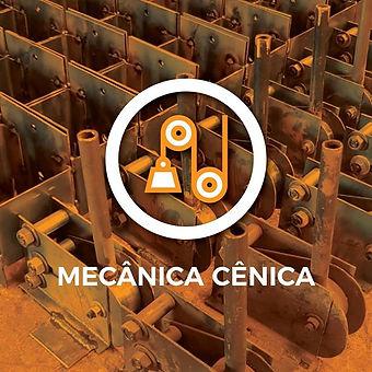O mecanismo cênico é um sistema de varas