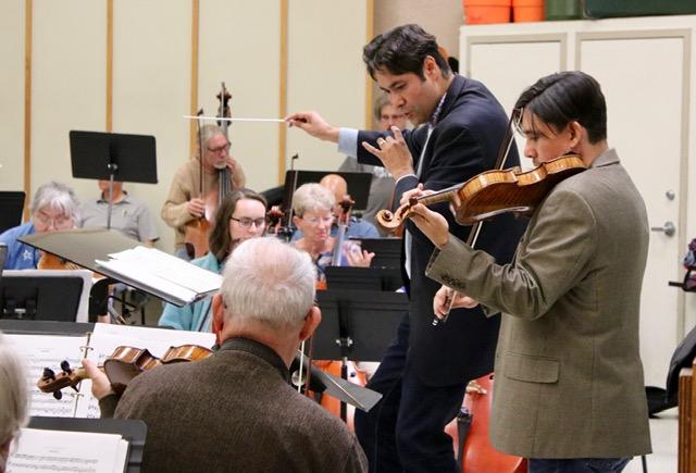 Rehearsing Mozart