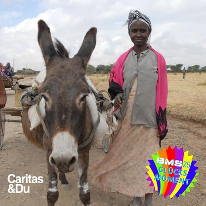 1 Esel für Frauen in der Region Dugda/Äthiopien