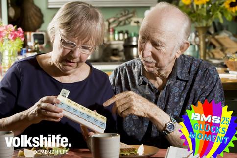 Unterstützung für die Demenzhilfe der Volkshilfe