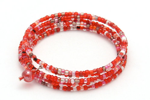 Spiralarmband red
