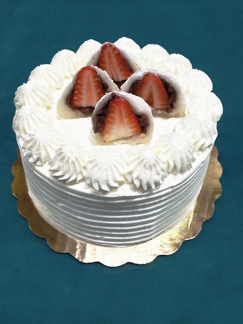 Daifuku cake with Azuki