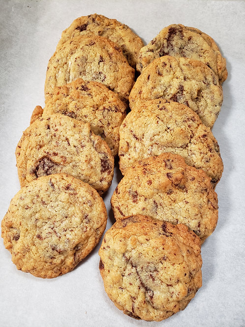 Soft baked chocolate chip cookie (20 pieces in a bag)