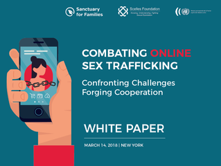 White Paper - Combating Online Sex Trafficking Conference 3/14/18 New York