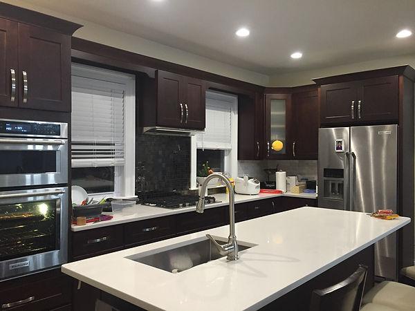 Ebony Shaker, Kitchen Cabinet wholesale prices- Kitchen and Bath Cabinets showroom