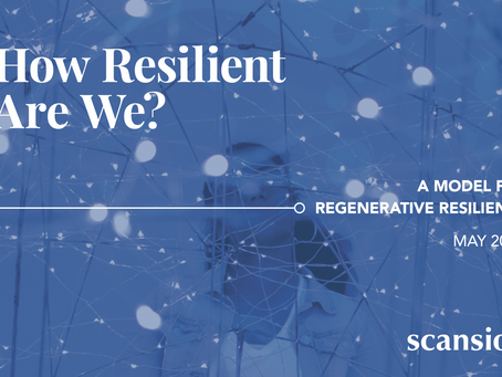 How Resilient Are We? A Model for Regenerative Resilience