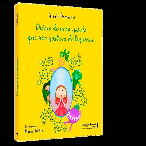 Livro Diário de uma garota que nao gostava de legumes