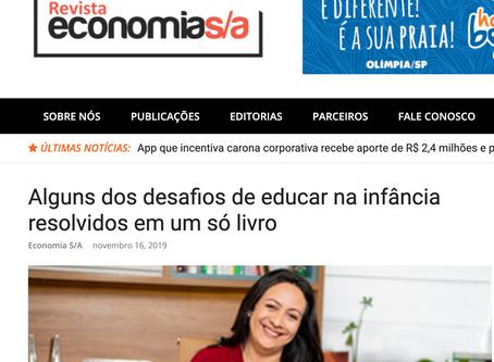 Revista economia : Alguns dos desafios de educar na infância resolvidos em um só livro