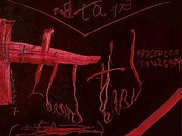 Antoni tapies grattage rojo.jpg