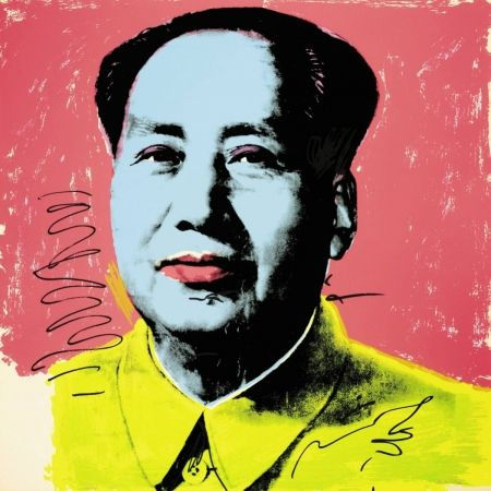 Retrato de MAO pintado por Andy Warhol.j
