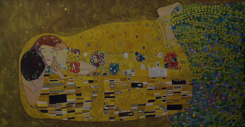 Gustav Klimt - El Beso