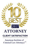 10 Best Attorney Client Satisfaction 2017