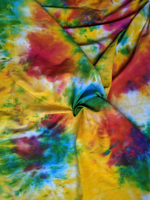 Age 2 to 7 Rainbow Tie Dye Children's Dress