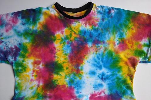 Short Sleeved Rainbow Tie Dye Lottie T-Shirt