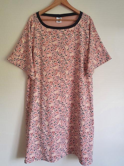 Short Sleeved Pink Bubbles Lottie Dress