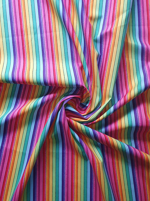 Rainbow Toulouse Playsuit