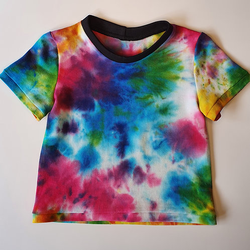 Age 2 to 7 Rainbow Tie Dye T-Shirt