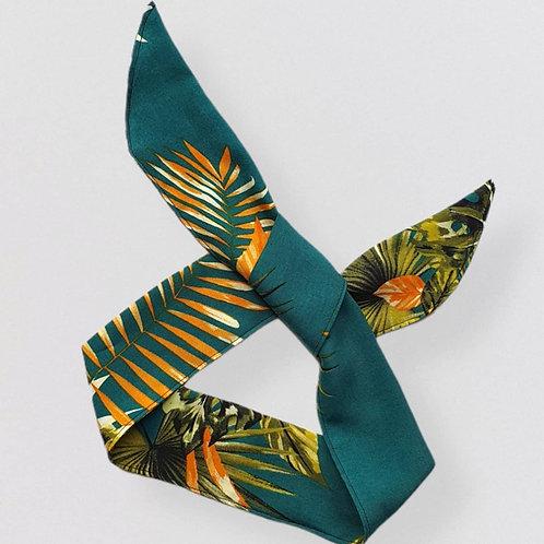 Green Tropical Headband
