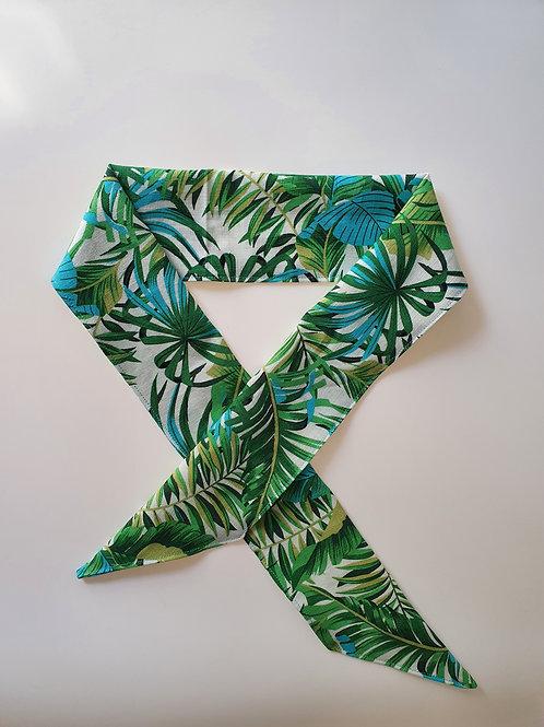 Light Green Tropical Headband
