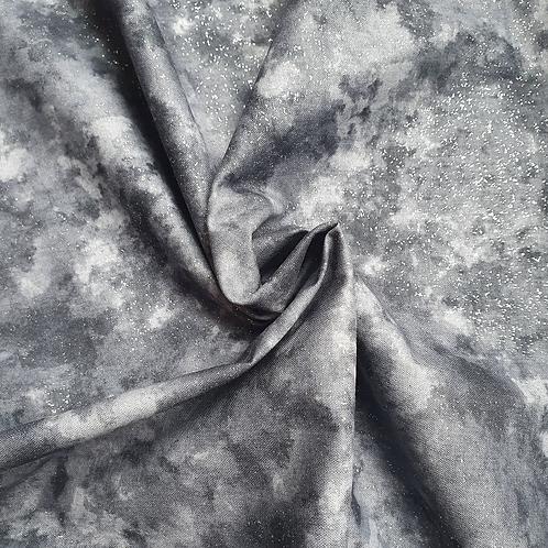 Glitter-Silver Midnight Shorts